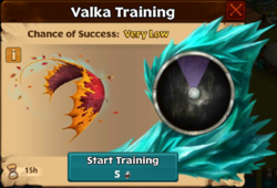 Axewing Valka First Chance