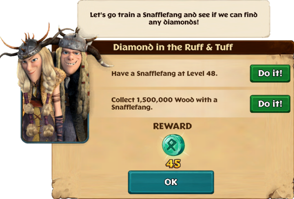 Diamond in the Ruff & Tuff