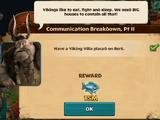 Communication Breakdown, Pt II