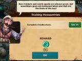 Trading Pleasantries
