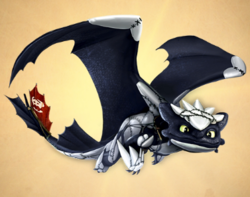 Death Scaled Toothless - costume