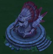 Drago's Bewilderbeast Statue Lv. 1