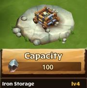 Iron Storage Lv 4