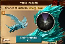 Snow Wraith Valka First Chance