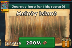 Hiccup's Journey Melody Island