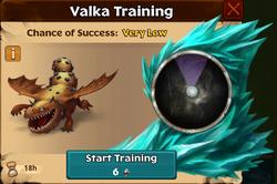Bedrock Terror Valka First Chance