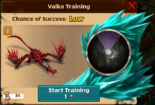 Monstrous Nightmare Valka First Chance