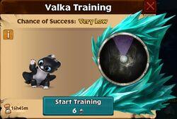 Night Light - 3 Valka First Chance