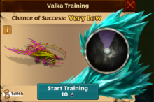Melting Wing Valka First Chance
