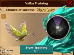 Torch's Brother Valka First Chance
