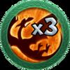 Achievement 3 Dragons 1 Attack