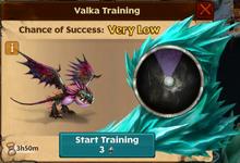 Deadly Nadder Valka Titan First Chance