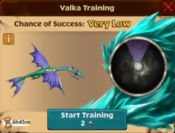 Battle Sliquifier Valka First Chance