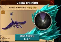 Valka's Seashocker Lv3 First Chance