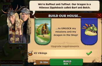 Build Ruffnut & Tuffnut's House