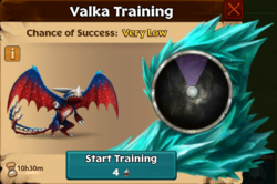 Triple Strype Valka First Chance