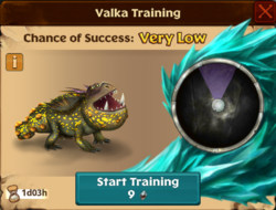 Meatlug's Mate Valka First Chance