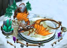 Battle Fireworm Princess Titan
