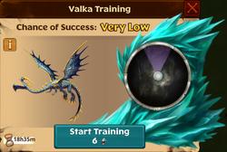 Galesplitter Valka First Chance