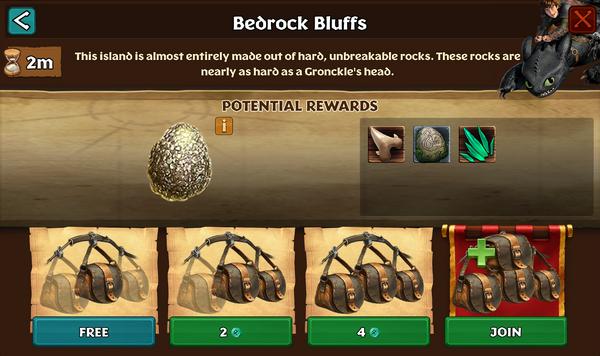 Bedrock Bluffs