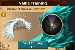 Silent Knight Valka First Chance