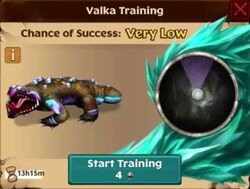 Cavern Crasher Valka First Chance