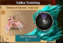 Springshedder Valka First Chance