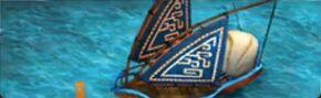 Eret's boat
