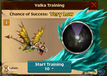 Battle Terrible Terror Valka First Chance