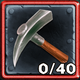 Exiled Metal Pickaxe