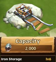 Iron Storage Lv 6