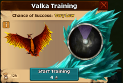Pyre-Flier Valka First Chance