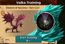 Hookfang's Nemesis Valka First Chance