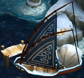 Eret's Boat - winter