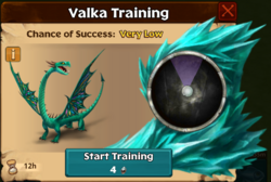 Fierce Piercer Valka First Chance