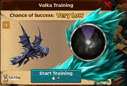 Night Terror Valka First Chance