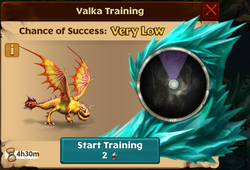 Snafflefang Valka First Chance