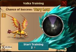 Snafflefang Valka First Chance