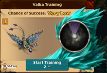 Hideous Zippleback Valka First Chance