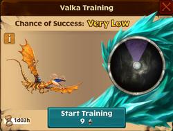 Battle Fireworm Princess Valka First Chance