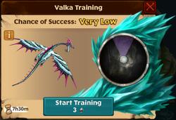 Raincutter Valka First Chance