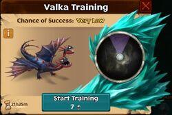 Heel & Brak Valka First Chance