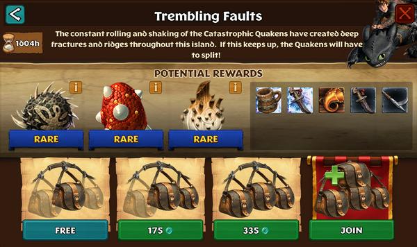 Trembling Faults
