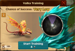 Solar Flare Valka First Chance