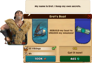 Build Eret's Boat