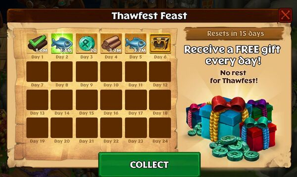 Monthly Feast Sample
