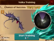 Battle Skrill Valka First Chance
