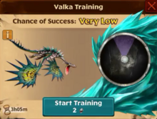 Battle Monstrous Nightmare Valka First Chance