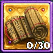 Grim Gold Scroll