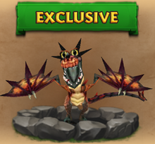 Exiled Monstrous Nightmare Hatchling